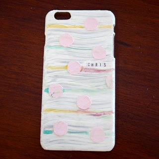 Painted small dessert shell phone