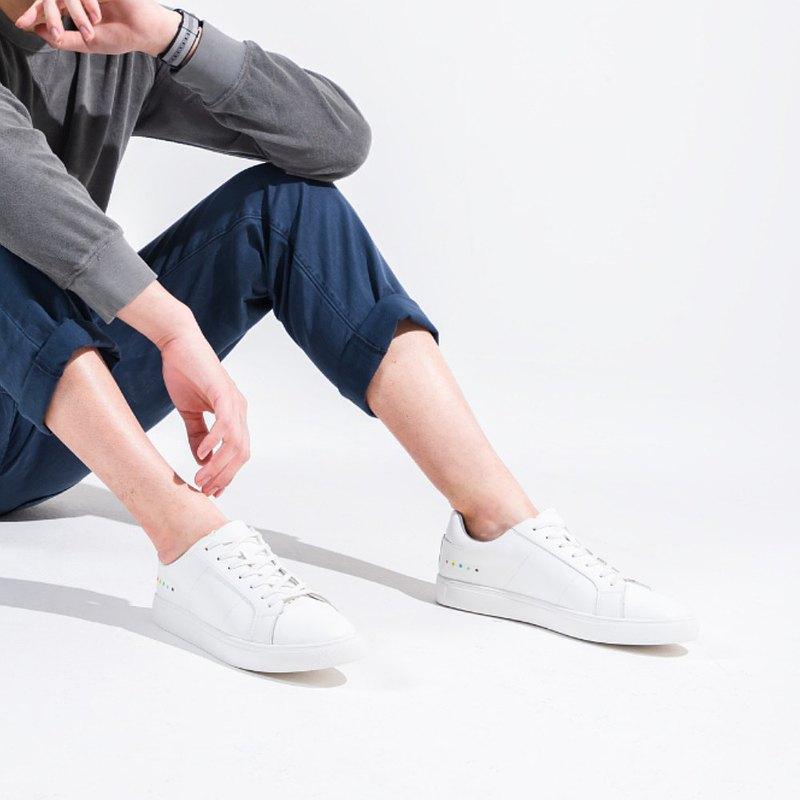 KIBO 再造皮革 - 可持續性的男裝休閒鞋