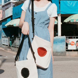 Japanese Dotted Cross Body Bag 2.0 Sun and Black Hole