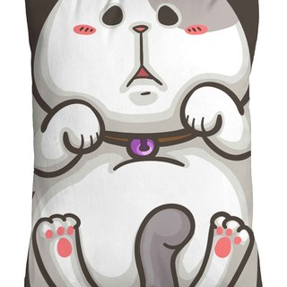 One God Cat Cabbage Series Pillow [Little Cabbage Hug]