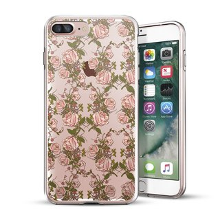 AppleWork iPhone 6 / 6S / 7/8 original design protection shell - flower CHIP-069
