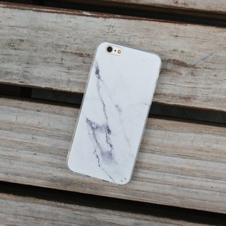 Original White 2 Real Marble Phone case (iPhone,Samsung model) with hard shell back case