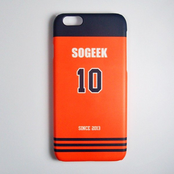 SO GEEK phone shell design brand THE JERSEY GEEK shirts back number Customized paragraph 061