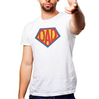 Superman Daddy T-Shirt / AC3-FADY4