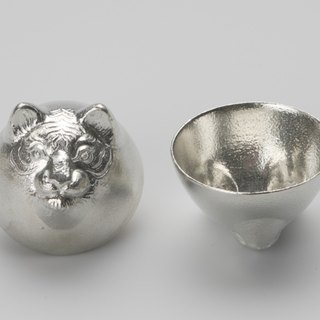 Pure tin zodiac modeling cup (tiger)