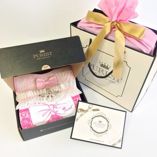 PUREST fashion little lady [luxury limited edition] baby gift box group / newborn / Mi Yue gift preferred