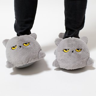 Oliver Cat USB Heated Slippers