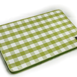 Lifeapp Sleeping Pad Replacement Cloth --- L_W110xD70xH5cm (Green White) does not contain sleeping mats
