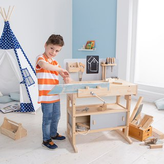 Small hand workman. Wooden children's desk