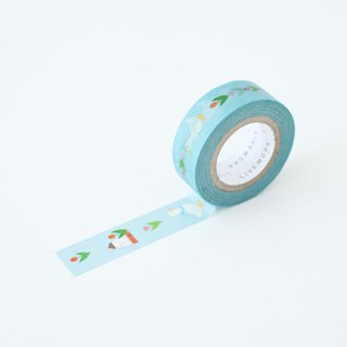 livework-Piyo paper tape (single) - Tulip Garden, LWK53299