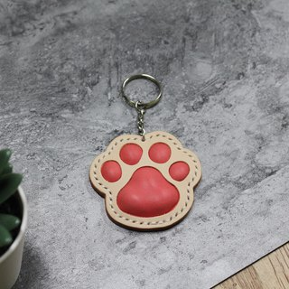[Mini5] meat round round palm meat ball key ring (pink)