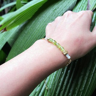 September Birthstone - Peridot Bracelet