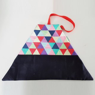 Utensil Wrap (Colorful Triangles)
