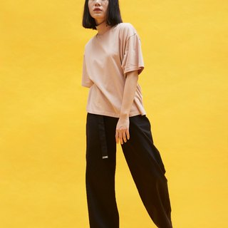 Anode oversized tee in pink