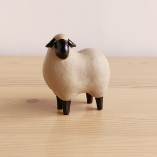 Sheep made from soil