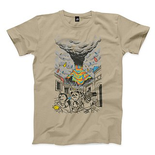 Escape Colors - Khaki - Neutral T-Shirt