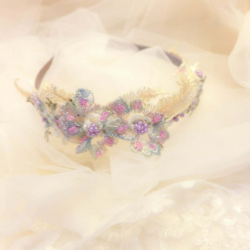 Classical embroidery hair band - Collection
