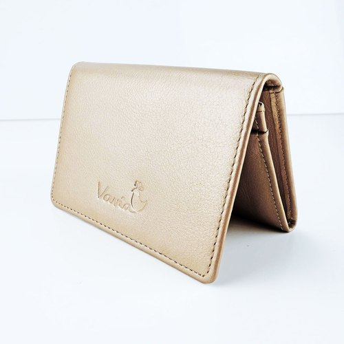 Cream Pearl Mini Purse / Cow Leather