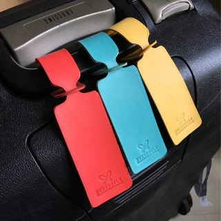 【Butterfly Handmade Leather】Customize your exclusive luggage tag (free branding service).