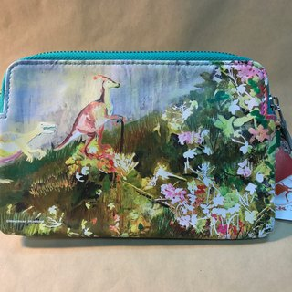 Nature said the dinosaur nice - leather clutch (Minerva X Lin Hui Heng) update