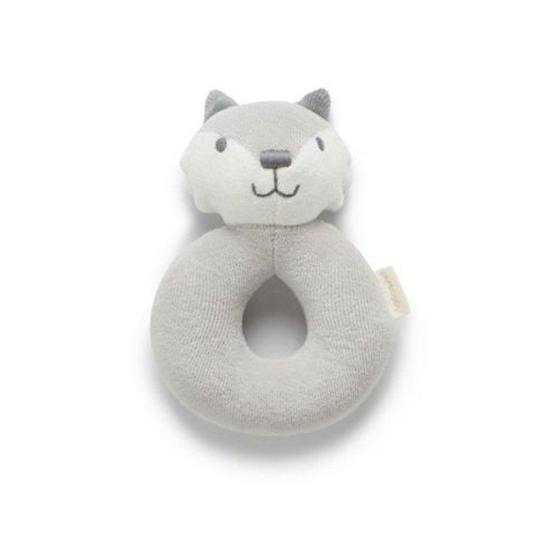澳洲Purebaby有機棉嬰兒安撫搖鈴-安撫玩具
