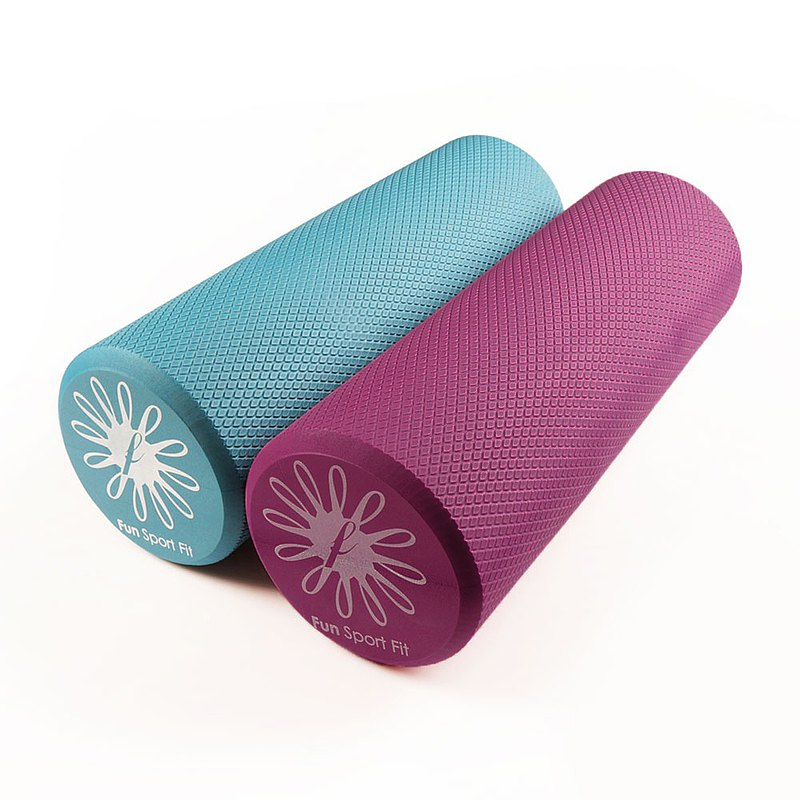 Fun Sport fit Aloe fascia massage roller - in the 45cm bag (yoga bar / yoga roll bar)
