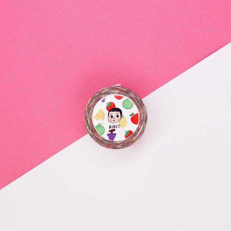 熊猫水果パーティー / 25mm紙膠帶