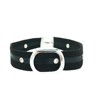 Black Buckle Choker-黑色扣環頸鍊