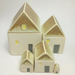 Material Selection - Green pottery coffee hut box box