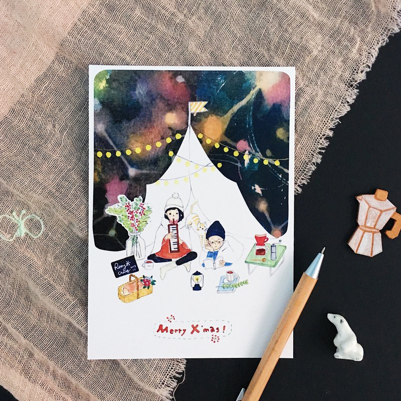 2017 Christmas limited postcards