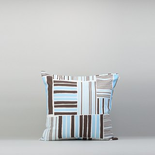 Pillow Case / Iron House / Coffee Blue / No Pillow