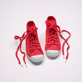 Spanish national canvas shoes CIENTA children's shoes size strawberry red fragrant shoes 61997 49