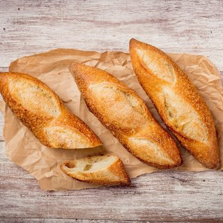French bread BAGUETTE handmade
