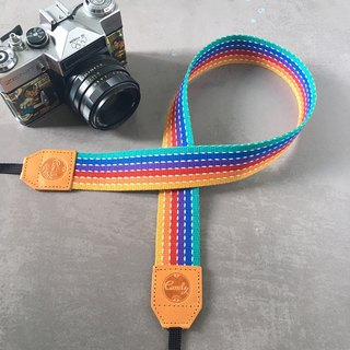 Rainbow Mix  Mirrorless or DSLR Camera Strap