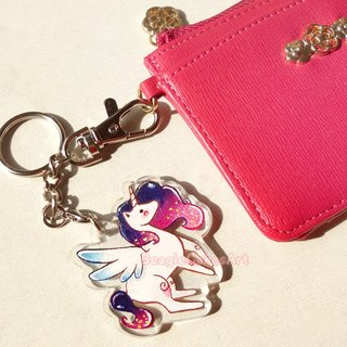Unicorn Keychain - Unicorn Keyring