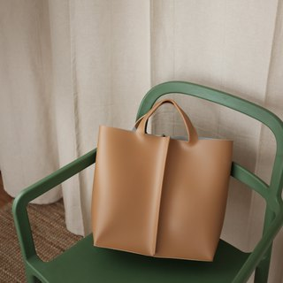 New! Signature tote II by WHITEOAKFACTORY - Tan, Brown, Camel