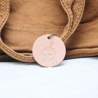 MOOMIN x Hong Kong-made leather Ami charm key ring color material package officially authorized Mummin