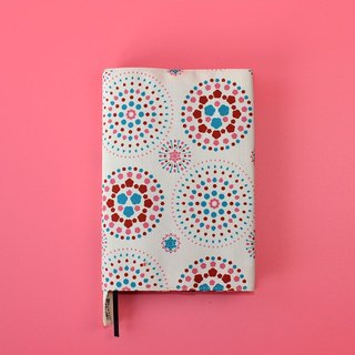 Japanese Pocket Size Book Cover / Firework / Gorgeous Pink