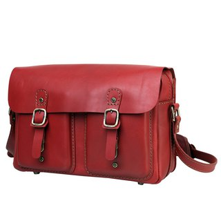 JIMMY RACING Manton insurance consultant Shoulder Messenger dual crimson briefcase H150S