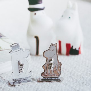 Moominpappa & Moominmamma Earrings  - Silver 925 plated with White Gold