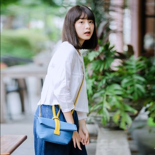 Quote Studio | Mini Cross Bag | Cowboy Blue