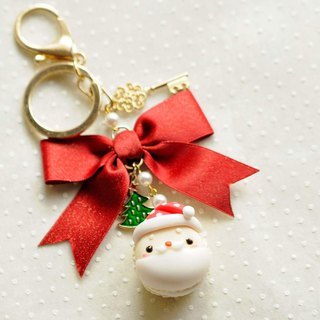 Sweet Dream ☆ Christmas ☆ Santa Macaron / bag ornaments / exchange gifts