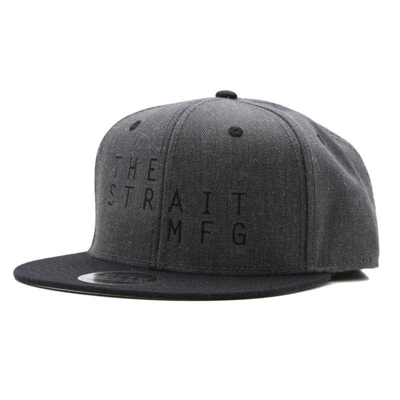 87973a189a235 TSM SNAPBACK CAP # BLACK / HEATHER - Shop THE STRAIT - Hats & Caps | Pinkoi