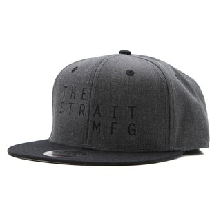 TSM SNAPBACK CAP # BLACK / HEATHER