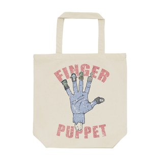 tote bag / finger puppet