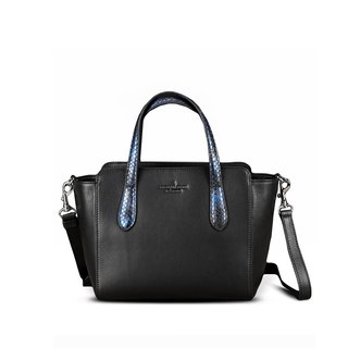STORYLEATHER Spot Style 6649 ppython aniline leather handbag snakeskin &