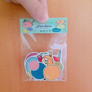 ❒ joy bubble sticker set