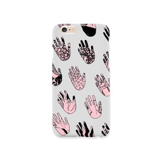 iPhone case - Palmistry - for iPhones - non-glossy hard shell