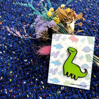 Cute Dinosaur Metal Brooch - Thunder Dragon / Mystery Hidden Edition
