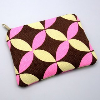 Zipper pouch / coin purse (padded) (ZS-91)